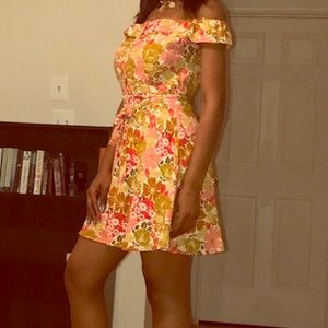 Summer dress on the low